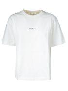 Acne Studios Round Neck T-shirt - White