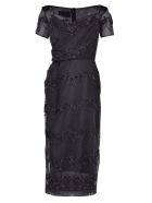 Simone Rocha Embellished Dress - Black