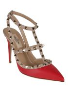 Valentino Sandals - Rouge/poudre