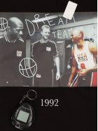 Throw Back 'dream Team' T-shirt - Black