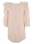 Elisabetta Franchi Celyn B. Elisabetta Franchi For Celyn B. Ruffled Sleeve Detailed Dress - Pink