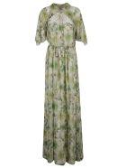 Giambattista Valli Plants Print Dress - Multicolor