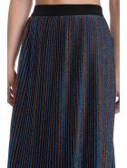Golden Goose Amber Skirt In Blue Polyamide - blue