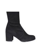 Stuart Weitzman Tieland Suede Boots - Black
