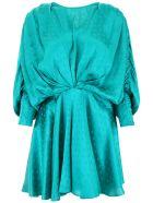 ATTICO Star Mini Dress - PEACOCK (Green)