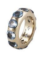 Lo Spazio Jewelry Lo Spazio Aquamarina Ring - Sea_Blue
