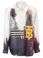 Burberry Arianna Shirt - Purple