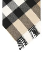 Burberry Cashmere Scarf - CAMEL (Beige)