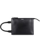 Jil Sander Tootie Sm Leather Handbag - black