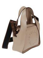 Stella McCartney Logo Strap Shoulder Bag - Cipria