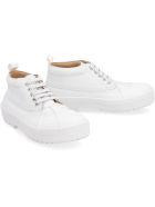 Jacquemus Les Meuniers Leather Lace-up Shoes - White