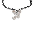 Maria Calderara Crystal Necklace - Ice Crystal