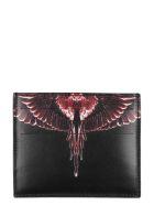 Marcelo Burlon County Of Milan Accessories Marcelo Burlon Printed Leather Card Holder