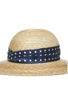 Maison Michel New Alice Hat - Natural navy