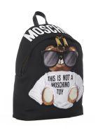 Moschino Micro Teddy Backpack - Black