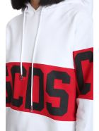 GCDS Sweatshirt In White Cotton - White