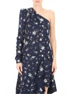 self-portrait Constellation Top - NAVY (Blue)