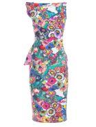 La Petit Robe Di Chiara Boni Chiara Boni La Petite Robe Floral Dress - Summer Garden Multi