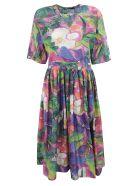 Sofie d'Hoore Floral Print Dress - Fantasy multicolor