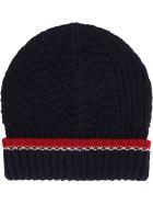 Thom Browne Merino Wool Hat - blue