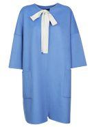 Sofie d'Hoore Cocoon Coat - Light Blue