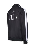 Valentino Vltn Star Full Zip Jacket - Black