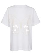 See by Chloé Embroidered T-shirt - White