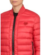 Love Moschino Reversible Padded Jacket - RED