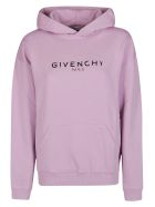 Givenchy Logo Hoodie - Pink