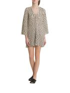 Missoni Woven Tunic With Wave Motif - Oro