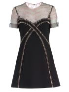 Versace Collection Studded Dress - Nero