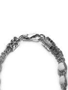 Emanuele Bicocchi Beaded Bracelet - Bianco argento