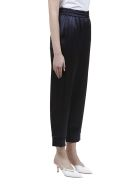 Nanushka Trousers - Blu scuro