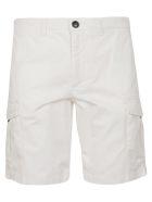 Eleventy Slim-fit Shorts - White