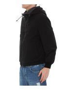 Salvatore Ferragamo Reversible Jacket With Gancini Print - Black