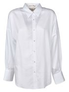 Le Sarte Pettegole Pointed Collar Shirt - White