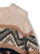 Brunello Cucinelli Brown Wool-silk-cashmere Jumper - Fantasia