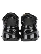 Maison Margiela Martin Margiela Maison Margiela Retro Fit Low Top Sneakers - BLACK