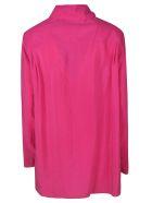 Lemaire Collar Semi-zipped Shirt - Pink
