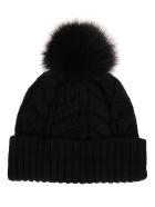 Woolrich Black Wool Hat - Nero