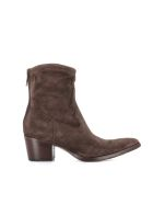 "Alberto Fasciani Texan ""venere 48035"" - Brown"