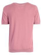 Drumohr Plain T-shirt - Old Pink