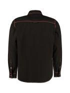 MSGM Denim Shirt - black