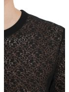 Helmut Lang Black Lace T-shirt - Black