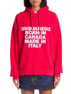 Dsquared2 Born In Canada Made In Italy - Rosso