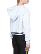 GCDS Fleece - Bianco nero