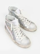 Golden Goose Sneakers - Sparkling Glitter Pink White Star