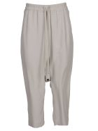 Rick Owens Cropped Trousers - Beige