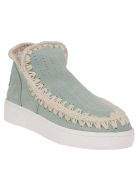 Mou Braided Boots - Mint