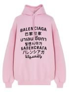 Balenciaga 'languages' Sweater - Pink